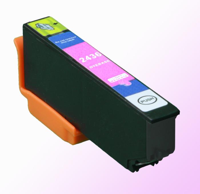 Kompatibel Epson Elefant, T2436, 24XL, C13T24364010 LM Light-Magenta Hellrot Druckerpatrone für 1.115 Seiten von D&C