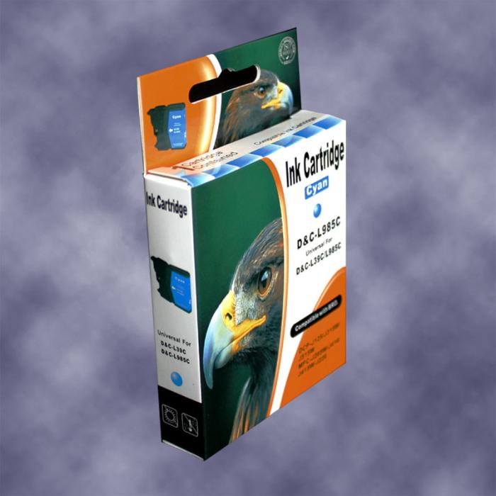 Kompatibel Brother LC-985 C Cyan Blau Druckerpatrone für 260 Seiten von D&C