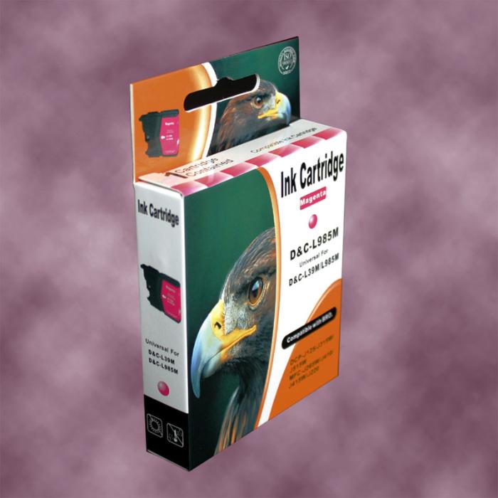 Kompatibel Brother LC-985 M Magenta Rot Druckerpatrone für 260 Seiten von D&C