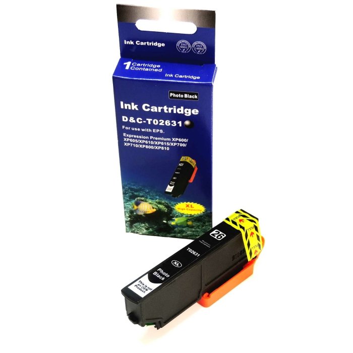 Kompatibel Epson T2631, Eisbär, 26XL, C13T26314010...