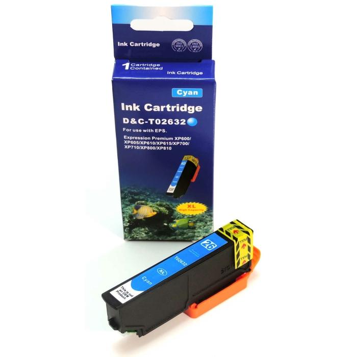 Kompatibel Epson T2632, Eisbär, 26XL, C13T26324010 C...