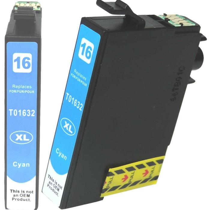 Kompatibel 8er Set Epson 16XL, Füller, T1636, C13T16364010 Druckerpatronen Tinte von D&C