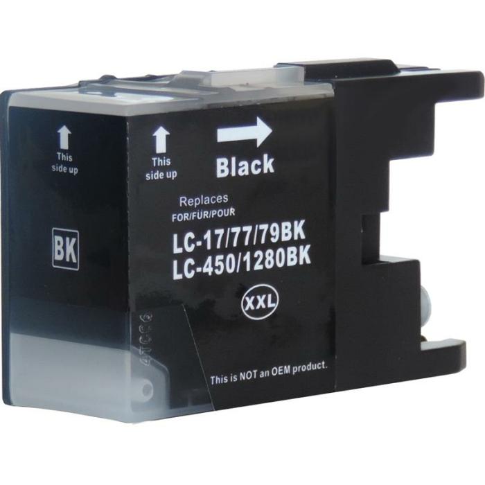 Kompatibel Brother LC-1280 XXL BK Schwarz Black...