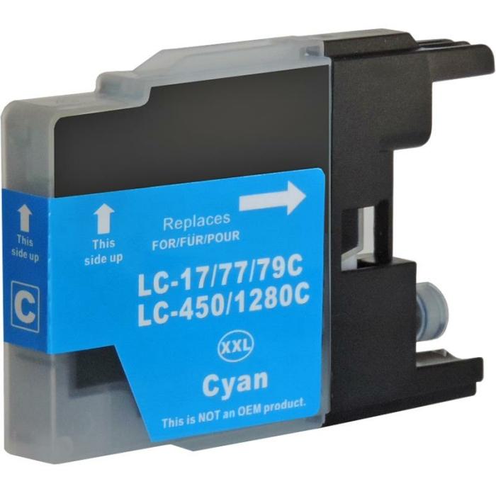Kompatibel Brother LC-1280 XXL C Cyan Blau Druckerpatrone...