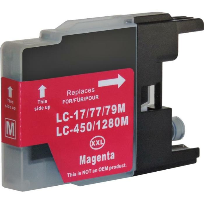 Kompatibel Brother LC-1280 XXL M Magenta Rot...
