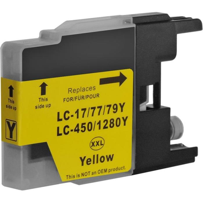 Kompatibel Brother LC-1280 XXL Y Yellow Gelb...