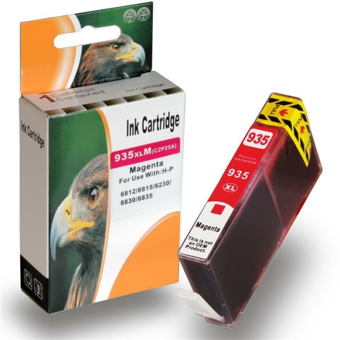 Kompatibel 4er Set HP 934XL, 935XL, X4E14AE Druckerpatronen Tinte von D&C