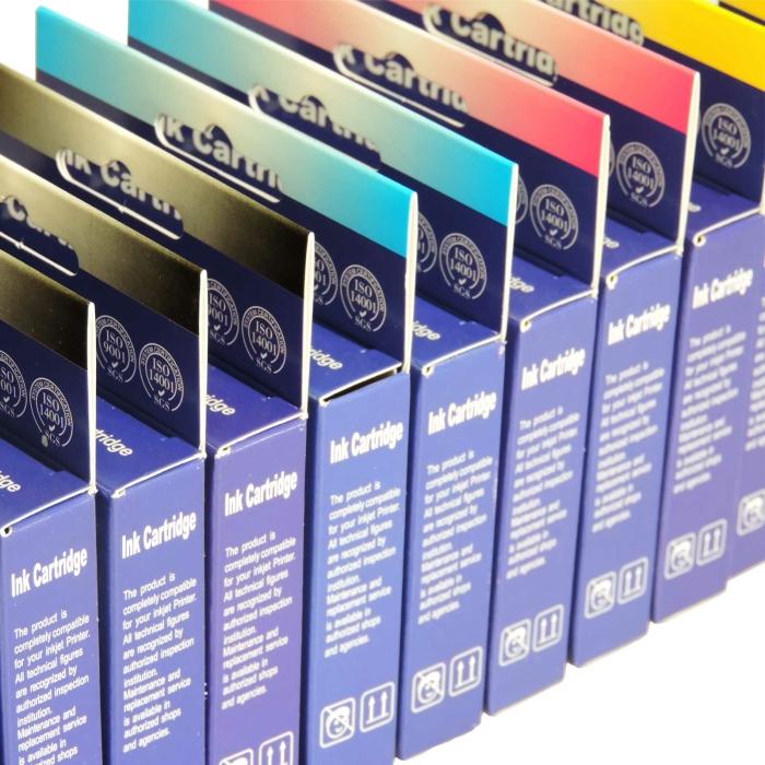 Kompatibel Epson Erdbeere, T2991, 29XL, C13T29914010 BK Schwarz Black Druckerpatrone für 470 Seiten von D&C